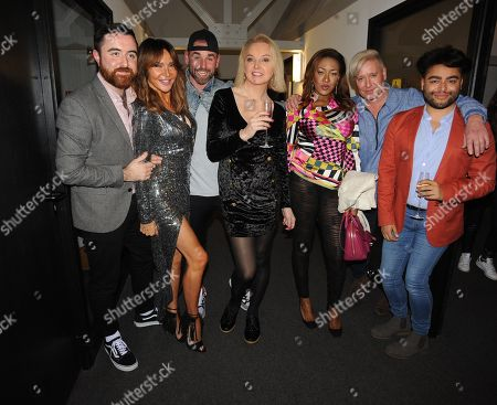 Steven Leng, Lizzie Cundy, Ben Jardine, India Willoughby, Gina Rio, Andrew Stone and Mark Bryon