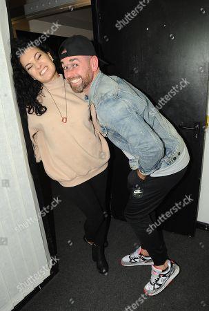 Anamelia Silva and Ben Jardine