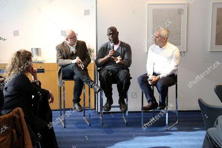 Steve McQueen (Director/Co-writer/Producer), Iain Canning (Producer), Joe Neumaier