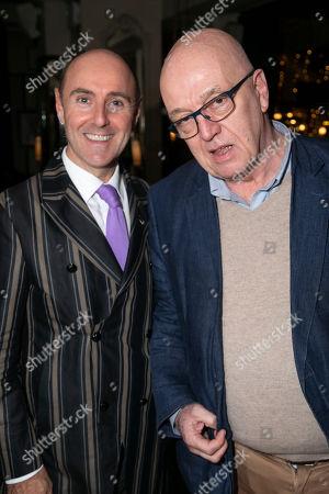 Stock Photo of Cal McCrystal (Comedy Director) and James Fenton (Adaptation)