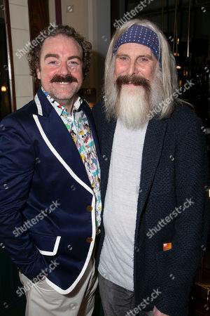 Rufus Hound (Sancho Panza) and David Threlfall (Don Quixote)