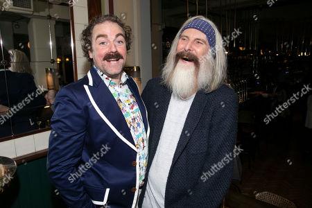 Stock Photo of Rufus Hound (Sancho Panza) and David Threlfall (Don Quixote)