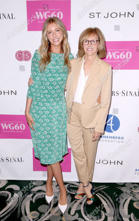 Stock Photo of Hallie Meyers-Shyer and Nancy Meyers