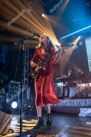 Editorial picture of First Aid Kit in concert at 02 Academy, Leeds, UK - 08 Nov 2018