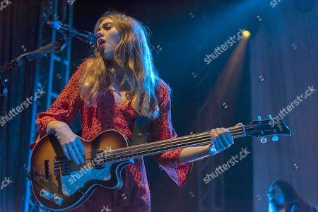 Editorial image of First Aid Kit in concert at 02 Academy, Leeds, UK - 08 Nov 2018