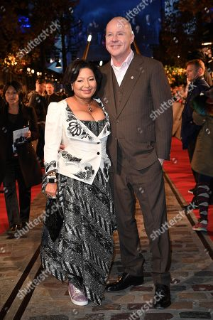 David Yates and his wife Yvonne