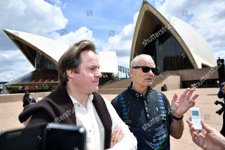 Editorial image of US actor Bill Murray in Sydney, Australia - 09 Nov 2018