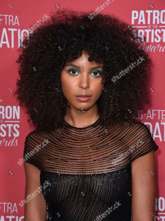 Arlissa arrives at the Patron of the Artists Awards, at the Wallis Annenberg Center for the Performing Arts in Beverly Hills, Calif