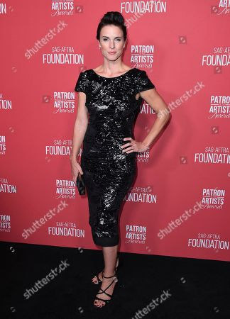 Stock Picture of Chantal Cousineau arrives at the Patron of the Artists Awards, at the Wallis Annenberg Center for the Performing Arts in Beverly Hills, Calif