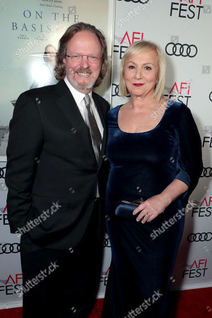 Stock Photo of Bob Gazzale, President & CEO, American Film Institute, Mimi Leder, Director,