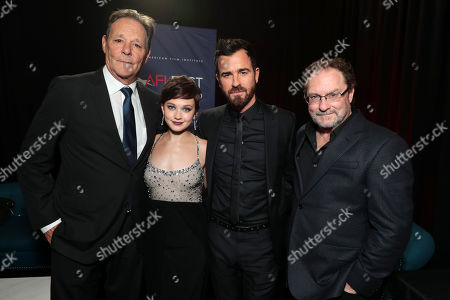 Chris Mulkey, Cailee Spaeny, Justin Theroux, Stephen Root