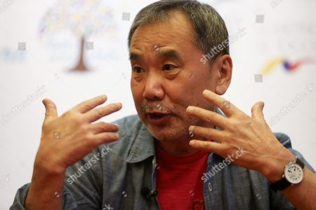Editorial photo of Japanese Murakami is the great appetizer of the Book Fair of Quito, Ecuador - 08 Nov 2018