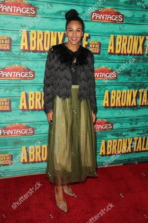 Editorial image of 'A Bronx Tale' opening night, Arrivals, Los Angeles, USA - 08 Nov 2018
