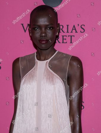 Grace Bol attends the 2018 Victoria's Secret Fashion Show after-party at Pier 94, in New York