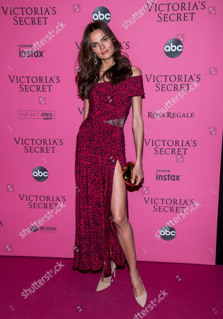 Barbara Fialho attends the 2018 Victoria's Secret Fashion Show after-party at Pier 94, in New York
