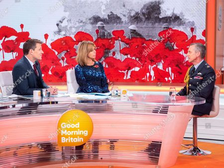 Ben Shephard, Kate Garraway and Sir Stephen Hillier