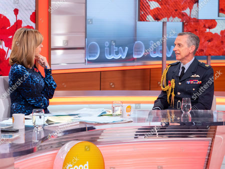 Kate Garraway and Sir Stephen Hillier