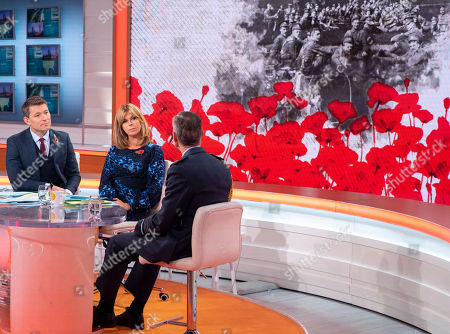 Stock Picture of Ben Shephard, Kate Garraway and Sir Stephen Hillier