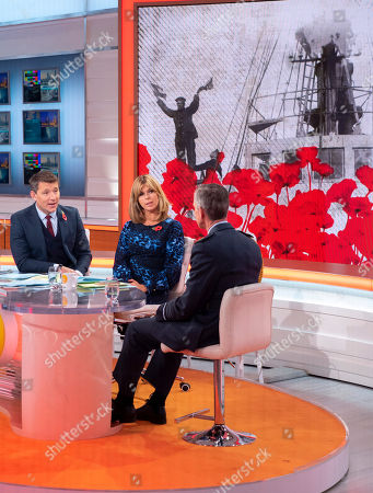 Editorial image of 'Good Morning Britain' TV show, London, UK - 09 Nov 2018