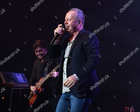 Editorial image of Simple Minds in concert at The Fillmore, Miami Beach, USA - 08 Nov 2018