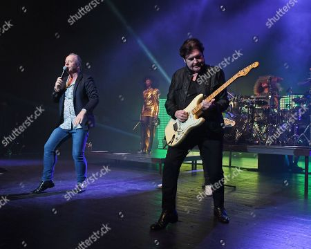 Stock Picture of Simple Minds - Jim Kerr, Charlie Burchill