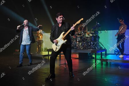 Stock Picture of Simple Minds - Sarah Brown, Jim Kerr, Charlie Burchill, Cherisse Osei, Gordy Goudie
