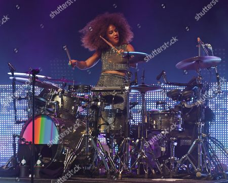 Stock Photo of Simple Minds - Cherisse Osei