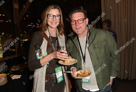 Chef Tyler Florence and actress Brenda Strong