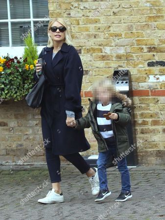 Editorial photo of Holly Willoughby out and about, London, UK - 09 Nov 2018