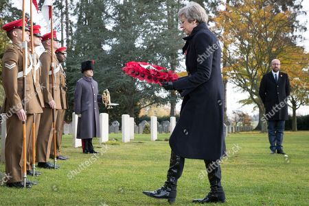 Editorial photo of Commemoration marking the 100th anniversary of the end of the First World War, Saint-Symphorien, Belgium - 09 Nov 2018