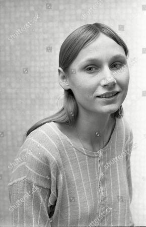 Angela Pleasence at Granada TV Studios 1968