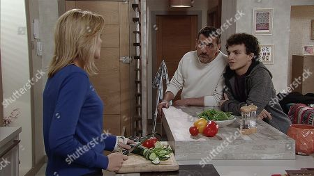 Ep 9612 Wednesday 14th November 2018 - 1st Ep Simon Barlow, as played by Alex Bain, returns from a careers day to announce he wants to join the Navy, once more Peter Barlow, as played by Chris Gascoyne, and Leanne Tilsley, as played by Jane Danson, disagree over his plans.