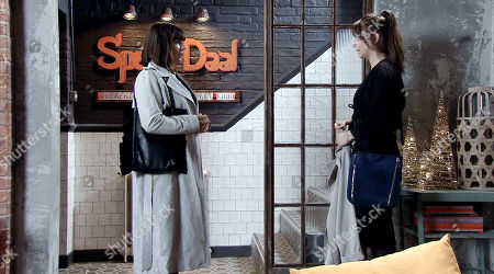 Ep 9624 Wednesday 28th November 2018 - 1st Ep Paula, as played by Stirling Gallacher, ends it with Sophie Webster, as played by Brooke Vincent. In