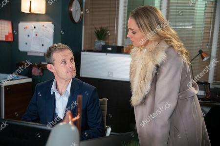 Ep 9616 Monday 19th November 2018 - 1st Ep Elsa, as played by Kelly Harrison, arrives and says that Nick Tilsley, as played by Ben Price, defrauded her of £40,000 to buy into the factory.