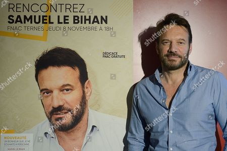 Editorial image of Samuel le Bihan press conference, Paris, France - 08 Nov 2018