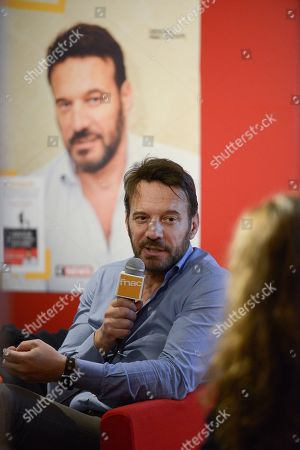 Editorial photo of Samuel le Bihan press conference, Paris, France - 08 Nov 2018