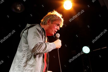 Stock Picture of Graham Fellows peforming as Jilted John