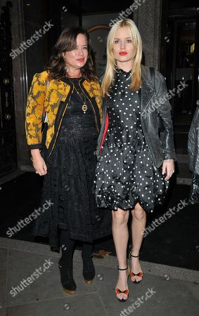 Jade Jagger and Georgia May Jagger