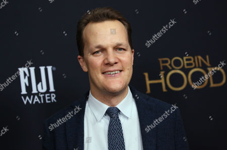 Editorial photo of 'Robin Hood' film premiere, Arrivals, New York, USA - 11 Nov 2018