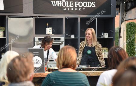 Stock Image of Nina Compton cooks