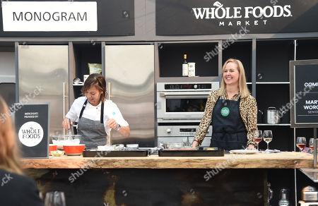 Stock Photo of Nina Compton cooks