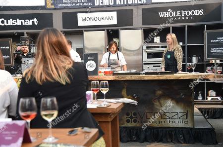 Editorial image of Culinary Demo, Napa Valley Film Festival, USA - 09 Nov 2018