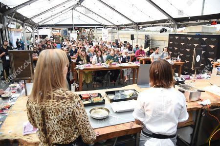 Editorial picture of Culinary Demo, Napa Valley Film Festival, USA - 09 Nov 2018
