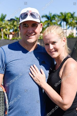 Editorial photo of Chris Evert and Raymond James Pro-Celebrity Tennis Classic, Pro-Am, Boca Raton, USA - 09 Nov 2018