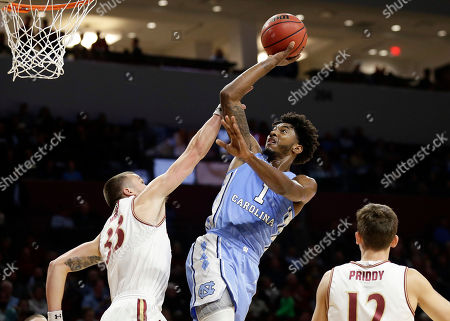 Editorial image of North Carolina Basketball, Elon, USA - 09 Nov 2018