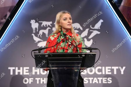 Laura Brown presents at the The Humane Society of the United States To the Rescue! New York Gala on in New York City. To the Rescue! is a benefit in celebration of the life-saving work of its animal rescue efforts across the nation and around the world. In its ninth year, the event honored Katie Sturino and Toast as well as Gucci and Golden Globe and Emmy Award-winning comedian, actor and director Ricky Gervais. The evening featured performances by Broadway's Erich Bergen and Sutton Foster