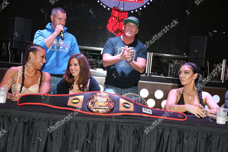 Editorial image of Celebrity Boxing press conference, Atlantic City, USA - 09 Nov 2018