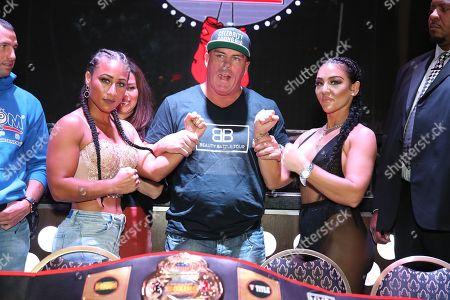Editorial photo of Celebrity Boxing press conference, Atlantic City, USA - 09 Nov 2018