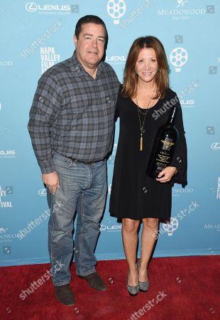 Cheri Oteri and Dave Miner