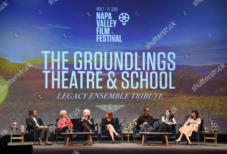 Editorial photo of 'Legacy Ensemble' Tribute to The Groundlings Theatre and School, Napa Valley Film Festival, USA - 09 Nov 2018